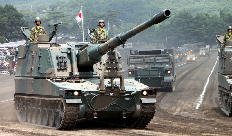 99式自走155mm榴弾砲