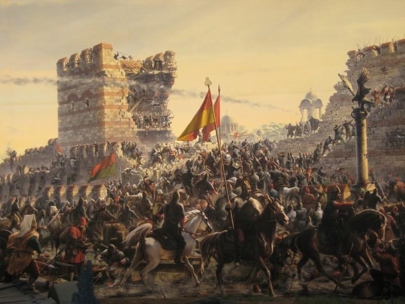 コンスタンチノープル陥落