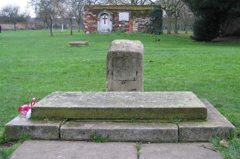 ハロルド2世の墓