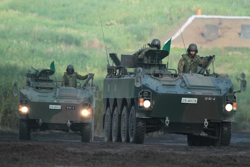 96式装輪装甲車