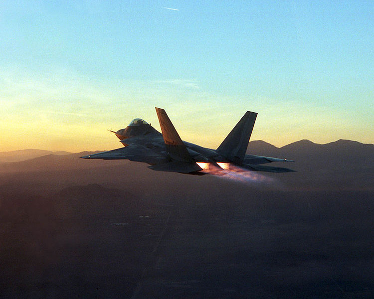 F22アフターバーナー