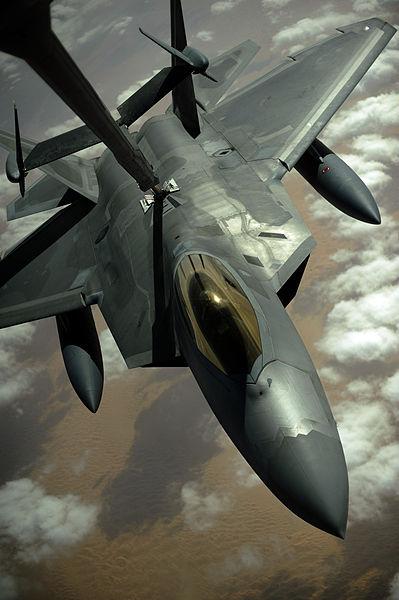 F22空中給油