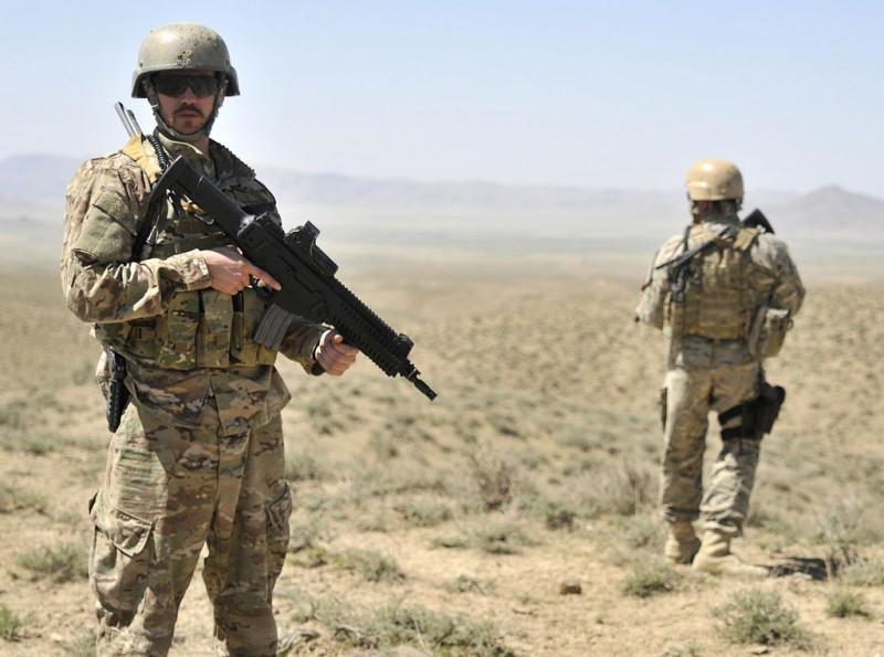 アフガニスタンのアルバニア軍特殊部隊ARX-160